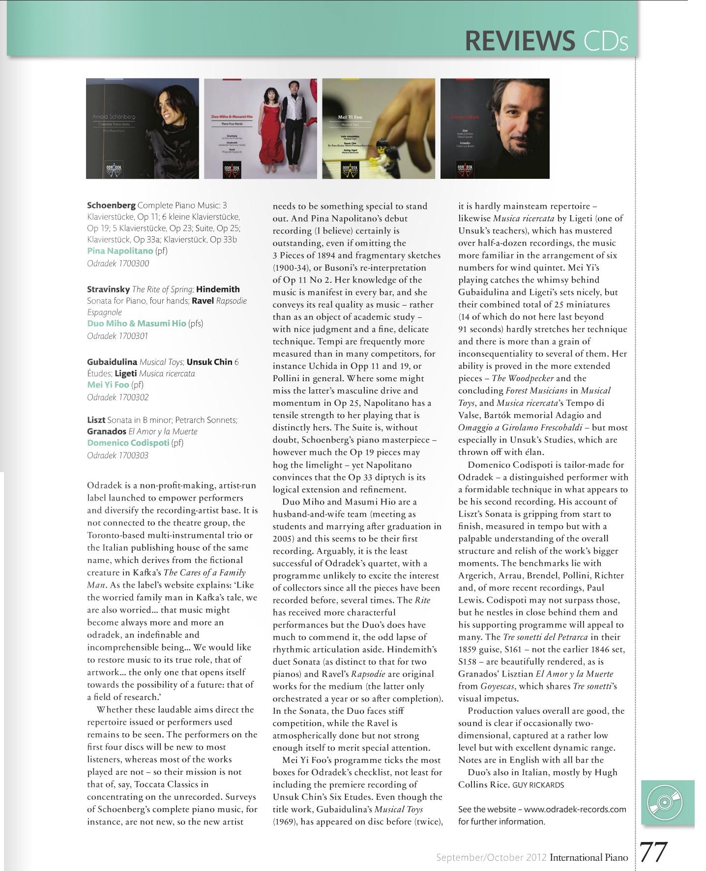 2012.9-International-Piano-Magazine-review